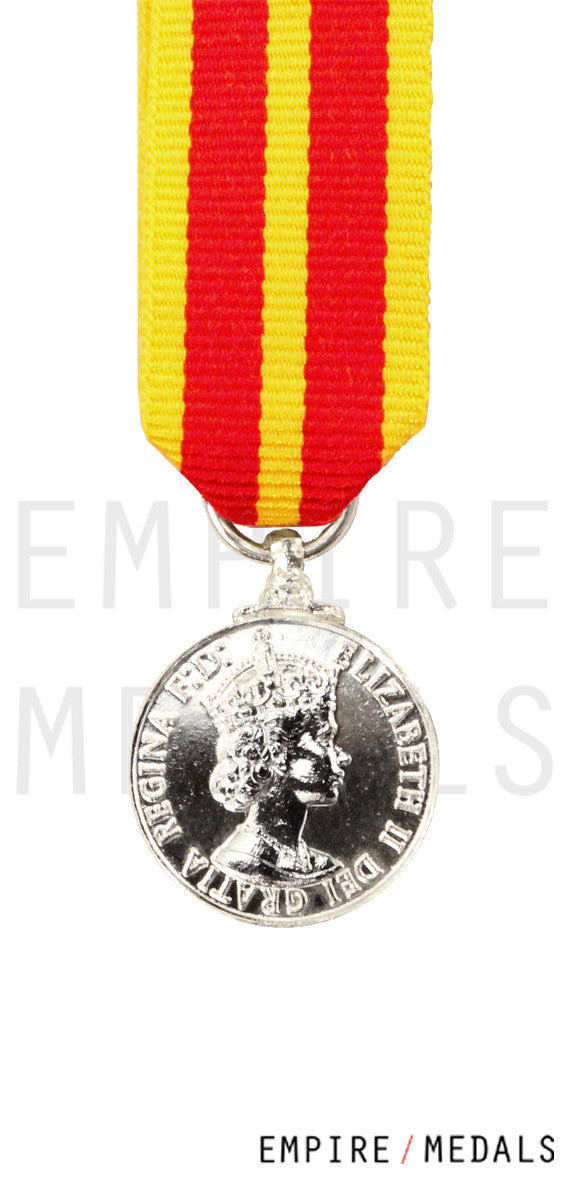 Queen's Fire Service Medal Miniature