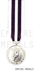 Queen's Police Medal Miniature