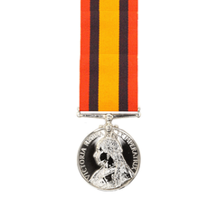 Queens South Africa Medal Miniature