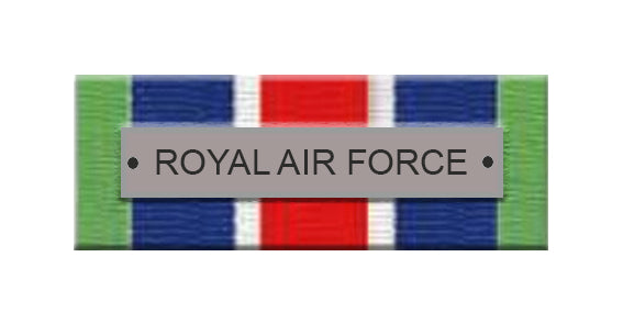RAF Service Ribbon Bar