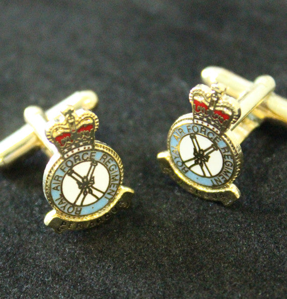 RAF Regiment Cufflinks