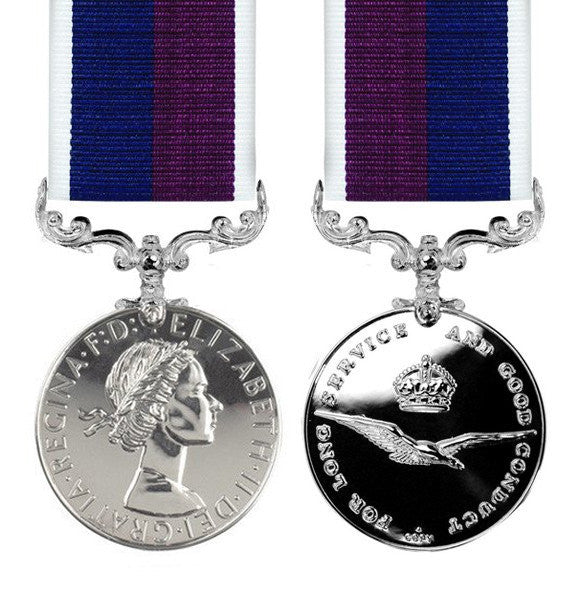 RAF Long Service & Good Conduct full size Medal