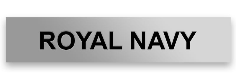 royal navy engraved clasp
