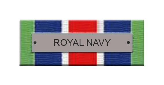 Royal Naval Service Ribbon Bar