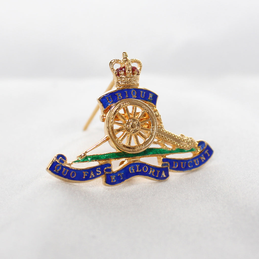 Royal Artillery Sweetheart Brooch