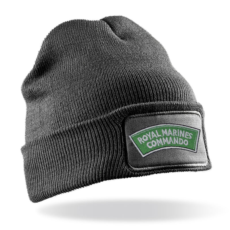 Royal Marines Commando Flash Beanie Hat