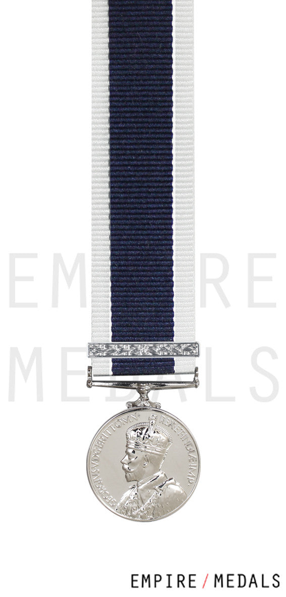 Royal Navy Long Service Miniature Medal GV