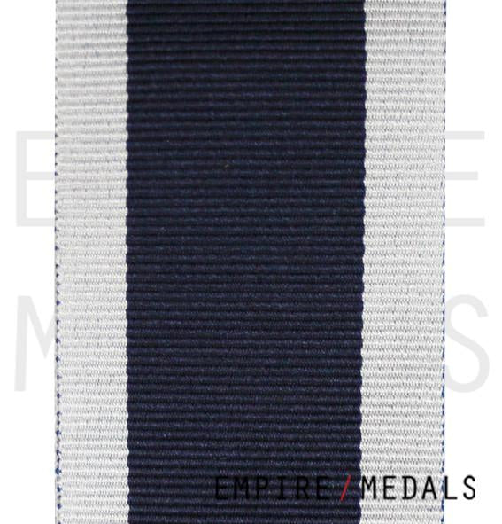 Royal Navy Long Service Medal Ribbon - Roll Stock