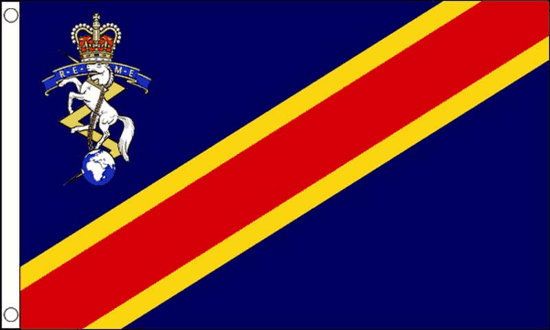 Royal Electrical and Mechanical Engineers Flag