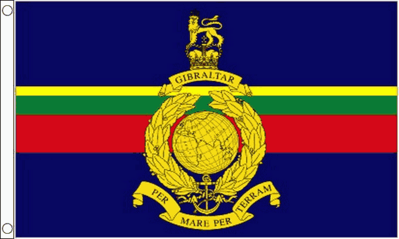 Royal Marines Flag - 3ft X 2ft