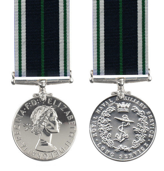 Royal Naval Auxiliary Service medal