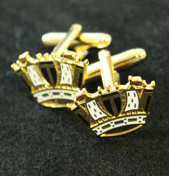 Royal Navy Crown Cufflinks