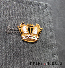 Royal Navy Crown Lapel Badge