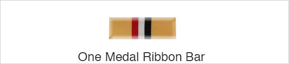Medal Ribbon Bar for 1 Ribbon