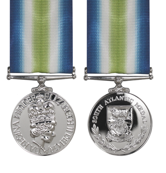 the falklands soulth atlantic medal