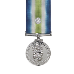 South Atlantic Miniature Medal with Rosette