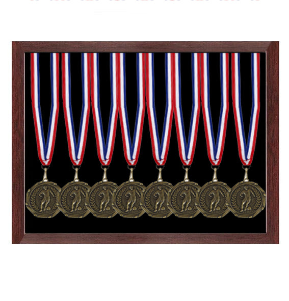 30 x 22.5cm Sports Medal Display Case (open fronted)