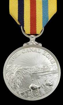 Suez Canel Zone Commemorative Medal