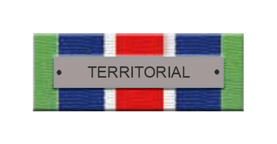 Territorial Service Ribbon Bar