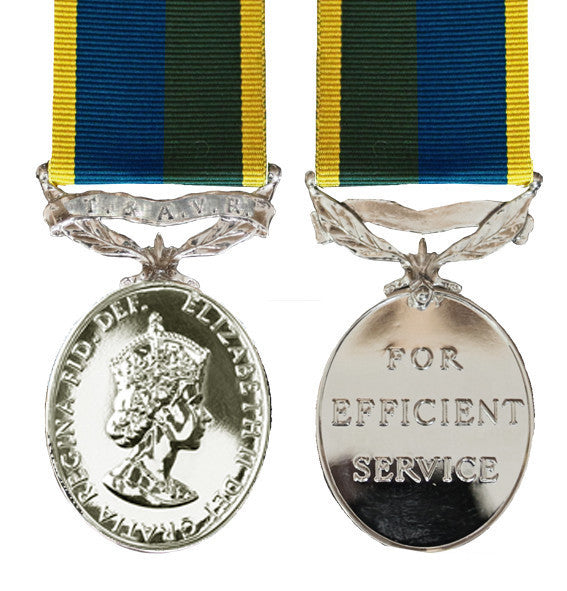T&AVR Efficiency Medal EIIR
