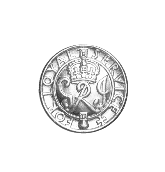 The WW2 Kings Badge for Loyal Service