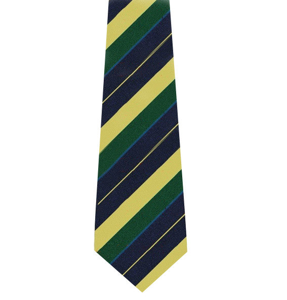 The Queens Royal Hussars Silk Tie
