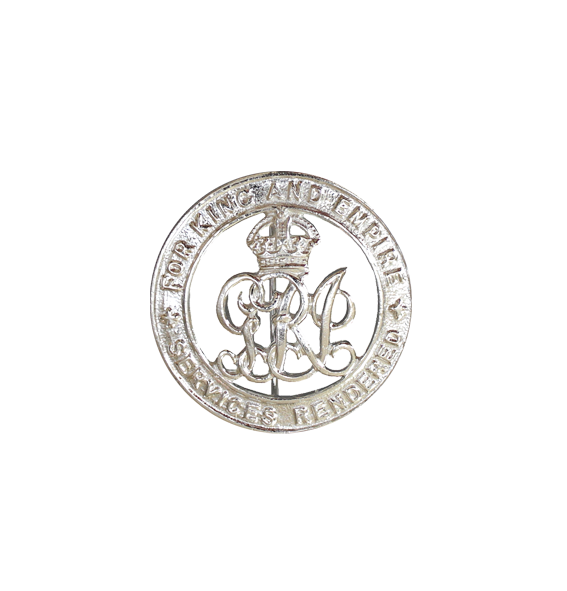 The WW1 Silver War Badge The Kings Badge