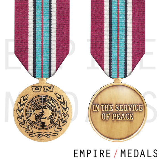 UN Golan Heights Full Size Medal