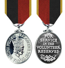 Volunteer Reserve Service Medal with HAC Ribbon