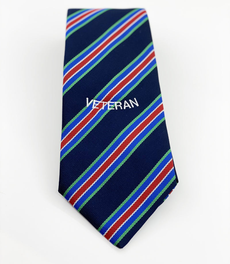 British Forces Defence Medal Polyester Veteran Tie