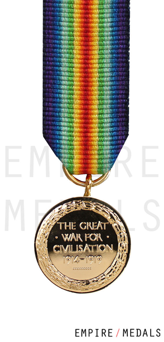Victory Medal Miniature