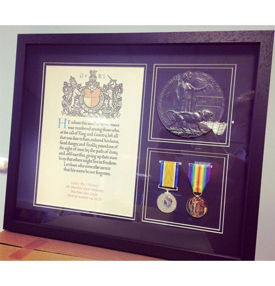 Ww1 Medal Frame Empire Medals British Military Medals