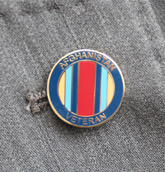 Afghanistan Lapel Badge
