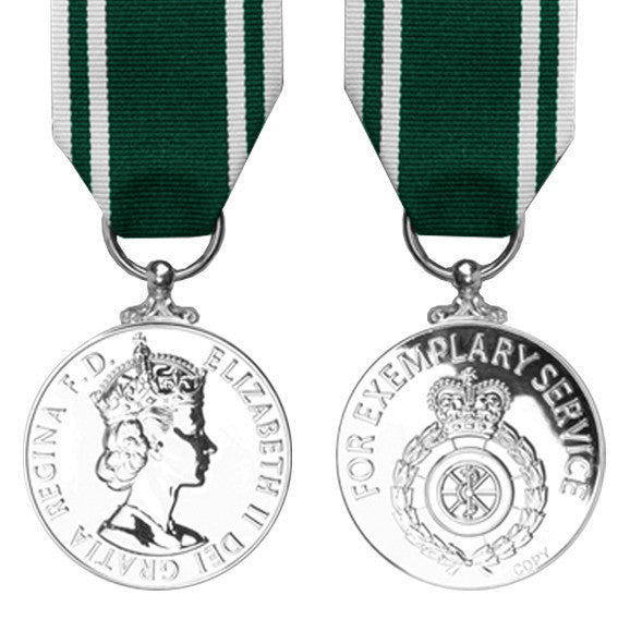 Ambulance Service Long Service Medal