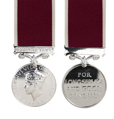 Army Long Service & Good Conduct Medal GVI