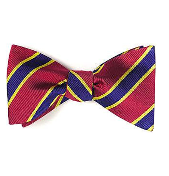 Military Silk Bow Tie (pretied)