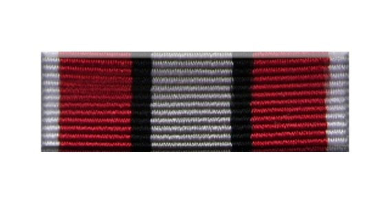 Fire Service Association Medal Ribbon Bar