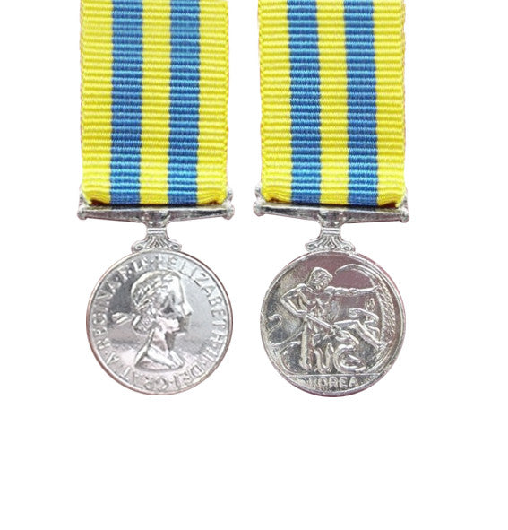 British Korea Miniature Medal