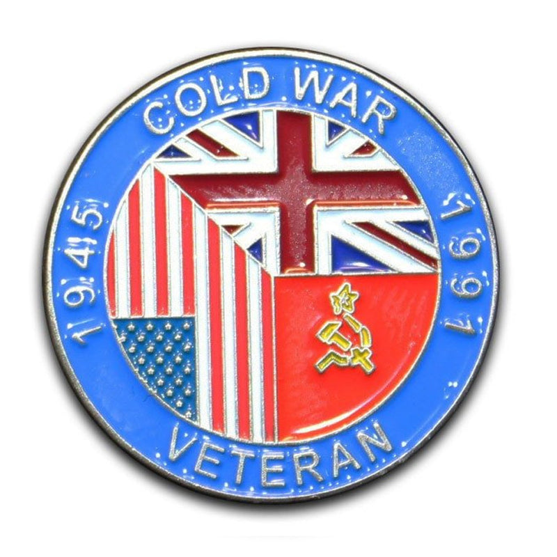 Cold War Veteran Lapel Badge