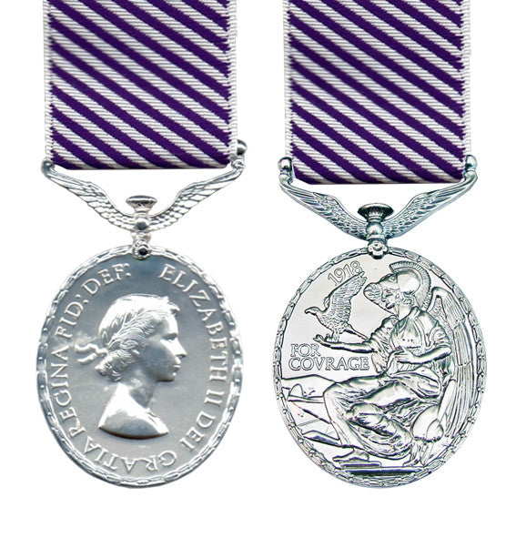 distinguished flying medal EIIR
