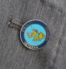 Falkland Islands Lapel Badge