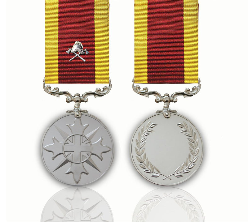 The Fire Service Medal of the British People