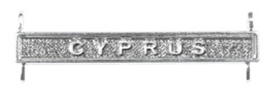 general service cyprus clasp