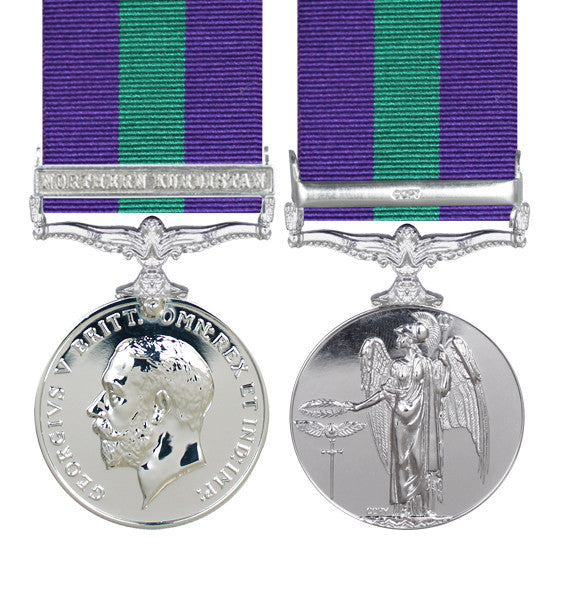 General Service Medal with Northern Kurdistan clasp