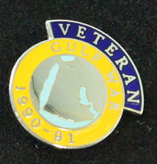 Gulf Veteran Lapel Badge