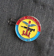 Gulf War Lapel Badge