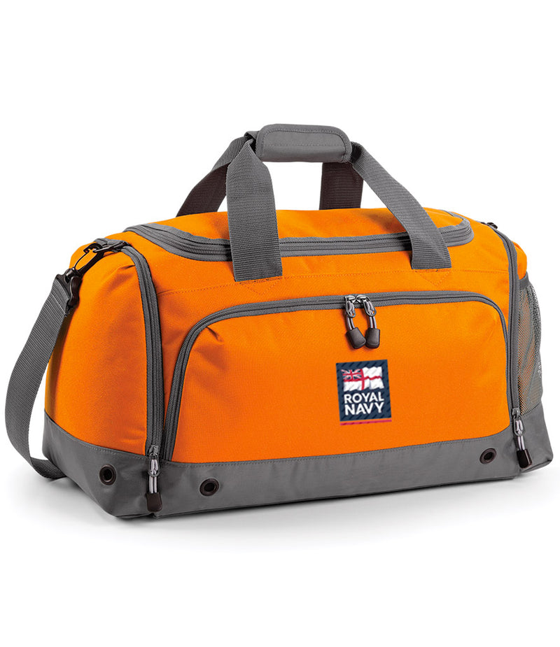 Military Embroidered Holdall - Orange