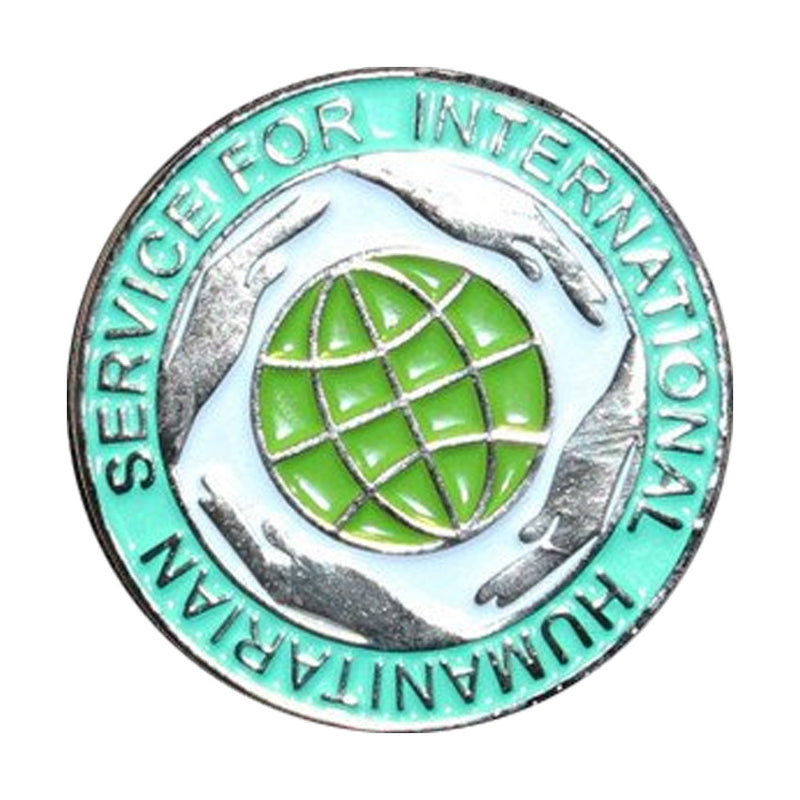 International Humanitarian Service Lapel Badge