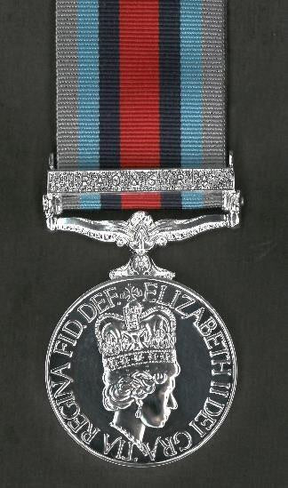 Operational Service Medal (OSM) - Op Shader with Iraq/Syria Clasp