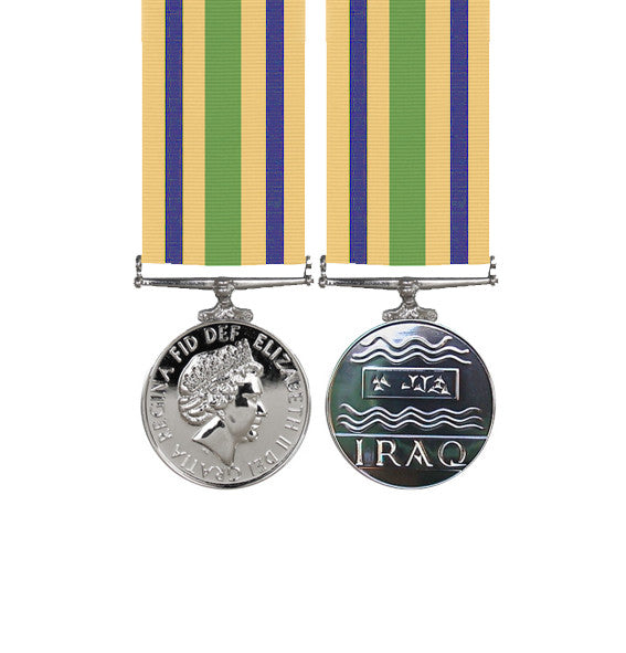 Miniature Iraq Reconstruction Medal